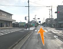 松江方面からアクセス写真1