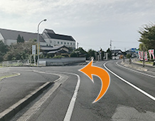 松江方面からアクセス写真3